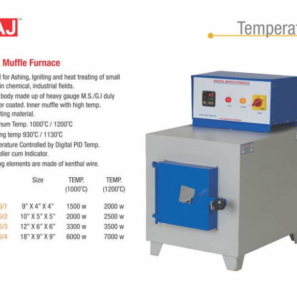 Digital Muffle Furnace