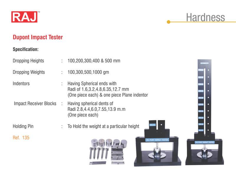 Dupont impact tester