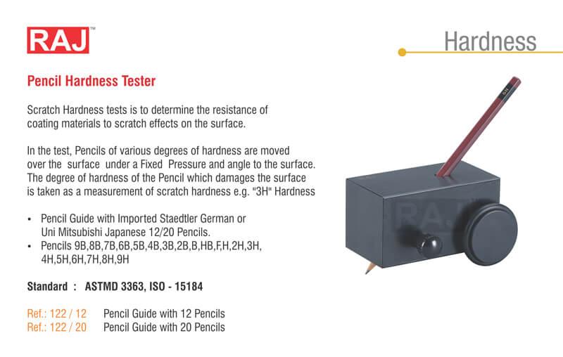 pencil hardness tester