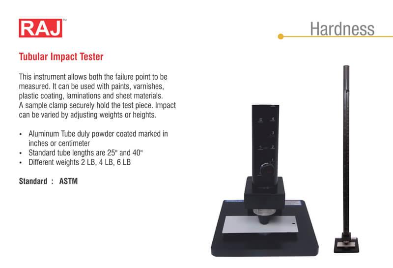 tabular impact tester