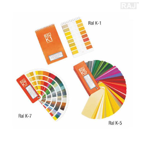 RAL Shade Card