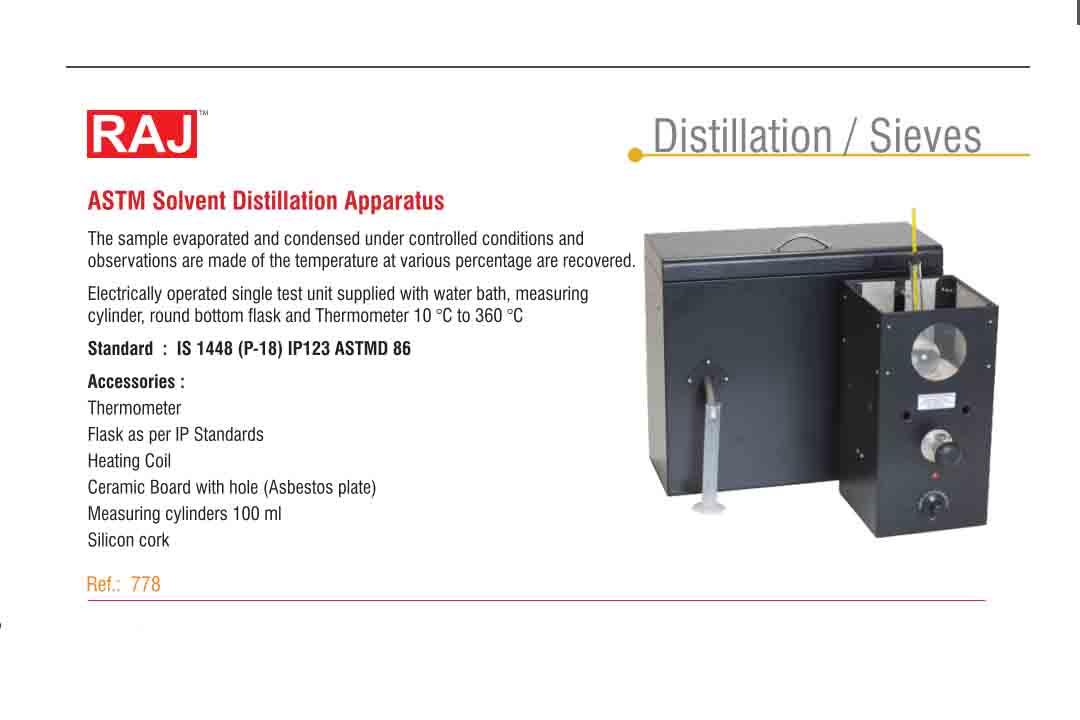 ASTM Distillations